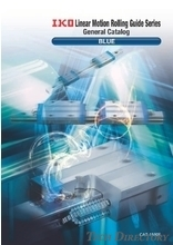 "IKO THOMPSON Linear Motion Rolling Guide Series General Catalog ""BLUE"""