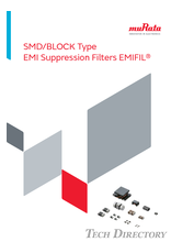 SMD/BLOCK Type EMI Suppression Filters EMIFIL