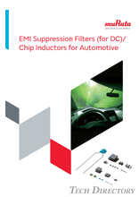 EMI Suppression Filters (for DC)/Chip Inductors for Automotive