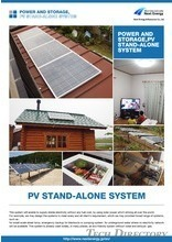 POWER AND STORAGE PV STAND-ALONE SYSTEM