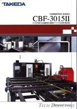 "3 Axes Drilling and Circular Saw Cutting Combination Machine ""CBF-3015II"""