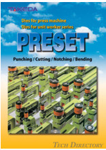 "Dies for press machine Dies for unit worker series ""PRESET"""