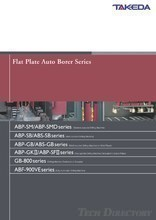 "Flat Plate Auto Borer Series ""ABP Series"""
