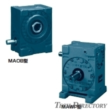 WORM REDUCTION GEAR MA series