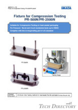 "Forming press test fixture ""PR Series"""
