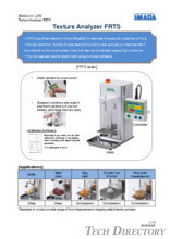 "Rheometer (texture analyzer) ""FRTS Series"""