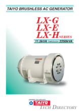 BRUSHLESS AC GENERATOR(ALTERNATOR)【LX SERIES】BRUSHLESS AC GENERATOR(ALTERNATOR)_LX SERIES