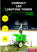 COMPACT LED LIGHTING TOWER【LT-406M】
