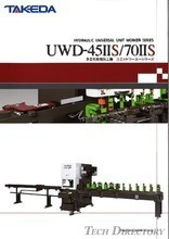 "Multi-Purpose Hydraulic Press Machine ""Unit Worker Series UWD-45IIS"""