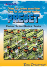 """PRESET SERIES"" Unit Die for Press Machine"
