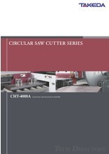 "Circular saw cutter(exclusively for steel flats) ""CHT-4008A"""