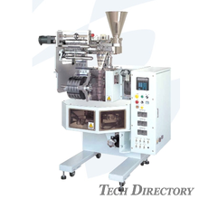 Model T-360 Pyramid-Shape Pouch Forming and Packaging Machine