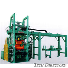 "Concrete Products Machine ""TG Series: Multi-purpose concrete products machine with vibrating table"""