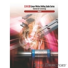 "IKO Linear Motion Rolling Guides (crossed roller ways and ball splines), Linear Motion Series Comprehensive Catalogue ""RED"""