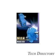 Highly efficient and high-speed reduction ratio type  Double-speed worm reduction gear MAH Series マキエース