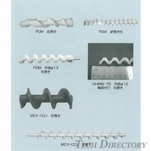 Contract manufacturing of screws using resin cutting process
